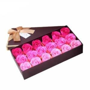 Jabón corporal para baño, pétalo de rosa perfumado
