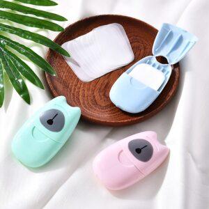 Mini jabón desechable de viaje 50 Uds