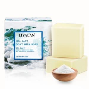 Jabón de glicerina y sal marina