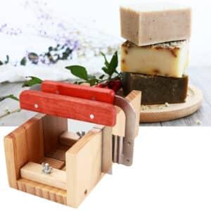 Caja de corte ajustable para jabón